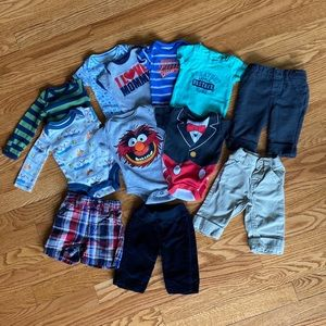 Lot of Newborn Size Clothing